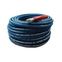 """Pressure Parts 3654 Piezas de presión 6000 psi 3/8"""" x 100' 2 Wire Braid arandela de la presión de la manguera"""