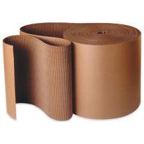 """Bocks Board Packaging 36X250 Rollo de cartón corrugado con una sola cara de 36"""" x 250'"""