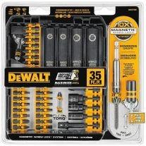 Dewalt DWA2T35IR 35-pieza de impacto Ready Set tornillo de conducción