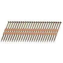 """Ballistic NailScrews PSNS300113YZSP Clavo roscado balístico de 3"""" 0.113 a 30-34 grados"""