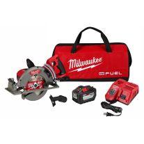 "Milwaukee 2830-21HD M18 FUEL 18-Volt 7-1/4"" Lithium-Ion Cordless Rear Handle Circular Saw Kit"