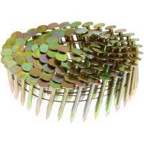 """Grip-Rite GRCR3DGAL Rollo de clavo electrogalvanizado de 1-1/4"""" x 0.120 para techos (1M)"""