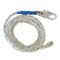 FallTech 8150 Línea de vida vertical de 50' con gancho de seguridad