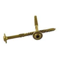 "WoodPro Fasteners ST516X4B Tornillos de cabeza de estrella 5/16"" x 4"" a granel  (25/paquete)"