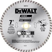 """Dewalt DW4712 7"""" diamante segmentado Dewalt circular Cuchilla"""