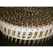 """Ballistic NailScrews HSNS114113YZSP Rollo de clavo de 1-1/4"""" x 0.113 en tira de plástico a 15 grados"""