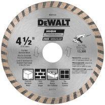 """Dewalt DW4725 4-1 / 2"""" Hoja de Diamante"""