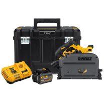 "Dewalt DCS520T1 Kit de sierra FlexVolt inalámbrica 60 Voltios Max 6-1/2"" con guías"