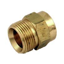 "Karcher 8.709-546.0 3/8"" FPT x 22 mm Arandela de la presión de la torcedura Acoplador Plug"