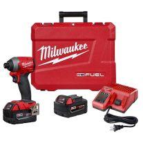 "Milwaukee 2853-22 Kit de destornillador de impacto M18 FUEL 1/4"""