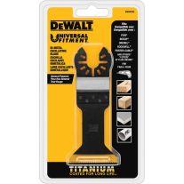Dewalt DWA4204B Hoja ancha de titanio oscilatoria para madera con clavos  (10 / paquete)