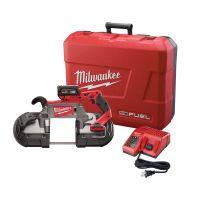 Milwaukee 2729-21 M18 18 voltios COMBUSTIBLE Deep Cut Sierra de cinta con el kit de batería