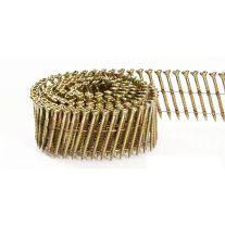 """Fasco SCWC1013FSEG Rollo de clavo electrogalvanizado de cabeza redonda y punta diamante de 3"""" x 0.113 electrosoldado a 15 grados"""