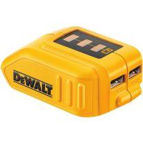 Dewalt DCB090 12 voltios / 20 voltios máximos USB fuente de alimentación