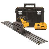 """Dewalt DCS520ST1 Kit TrackSaw FLEXVOLT 60 Voltios Max de 6-1/2""""  (165 mm)"""