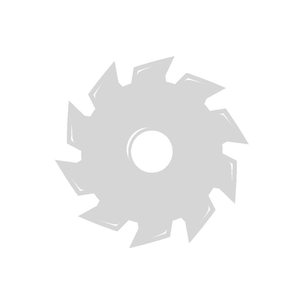 "Interchange 46230 Tornillos #8 x 1-1/2"" cabeza cuadrada interna paso fino cincado transparente para madera a metal"
