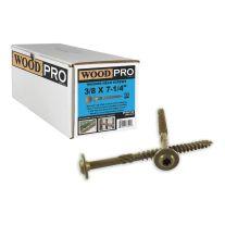 """WoodPro Fasteners ST38X714B 3/8"""" x 7-1 / 4"""" Tornillos granel Lavadora Starhead (250 / Pack)"""