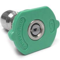 General Pump 9.802-309.0 Lavadora de presión Green, QC 2506 Boquilla (25 grados, tamaño # 06)