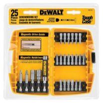 Dewalt DW2167 25-piezas de atornillamiento Bit