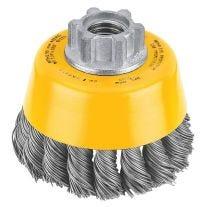 """Dewalt DW4910 3"""" x 5/8"""" -11 HP 0,020 Carbon nudo de alambre Copa Brush"""