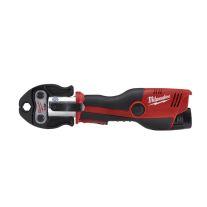 "Milwaukee 2473-22 M12 de 12 voltios 1/2 ""-1"" Tool Kit Inalámbrico Prensa Fuerza Lógica con las quijadas"