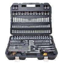 DWMT75049 Juego de herramientas de 192 piezas para mecánico  (SAE y métricas)
