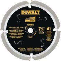 """Dewalt DWA3193PCD 7-1 / 4"""" Hardie circular Cuchilla"""