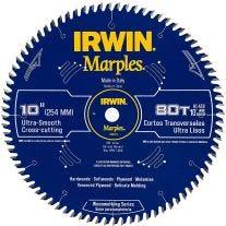 """Irwin 14076 10"""" 80 dientes por pulgada Hoja de sierra circular"""