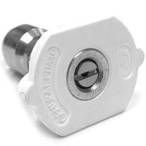 General Pump 8.708-696.0 Arandela de la presión blanca del control de calidad de la boquilla 4008 (40-Grado, tamaño # 08)
